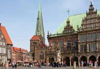 Bremen, Shopping, Einkaufen, Rathaus, Marktplatz des Nordens, Weltraumladen, Bremen-Oldenburg, Hansestadt
