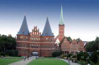 Lübeck, Einkaufen, Shopping, Weltkulturerbe, Königspassage, Marzipan, Holstentor