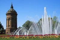 Mannheim, Einkaufen, Shopping, Wasserturm, Quadratestadt, Rhein-Necker-Metropole, Söhne Mannheims